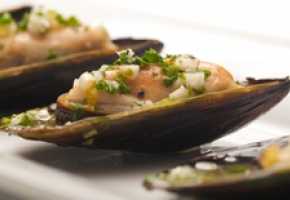 Marinated Blue Mussels