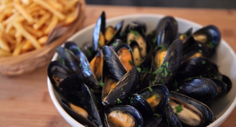 Mussels in Barbecue Sauce