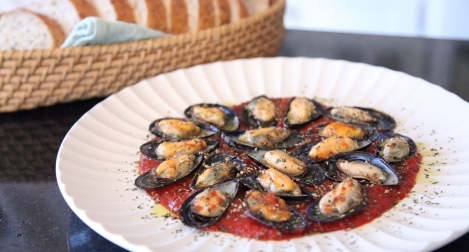 Mussels, Pizza-Style