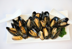 Chinese Black Bean Mussels